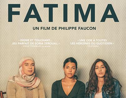 FATIMA, film poster (a film by Philippe Faucon)