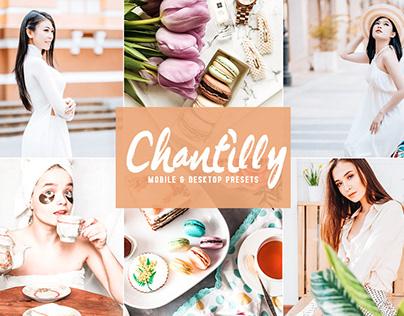 Free Chantilly Mobile & Desktop Lightroom Presets