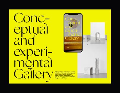 Aybar Gallery design concept