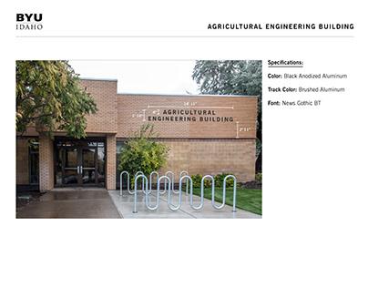 BYU-Idaho Building Signage