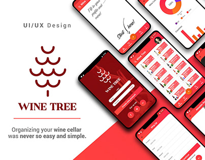 Wine Tree - UI/UX Design Project