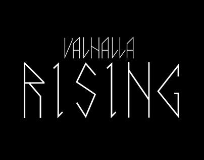 Valhalla Rising - Tipografia