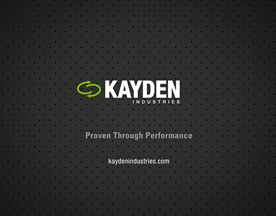 Kayden Industries: Corporate Overview & Desludging