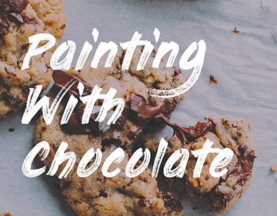 Painting With Chocolate - FREE FONT