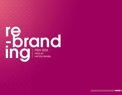 Rebranding identité visuelle PBH BOX