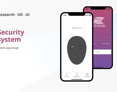 Security system app design