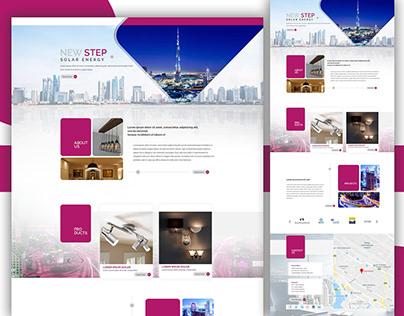 Solar Energy - Website
