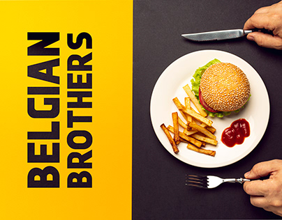 Belgian Brothers Food Branding