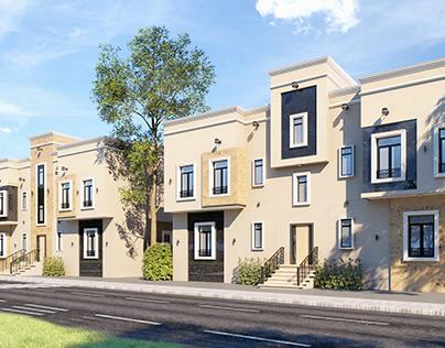 Residential facades design