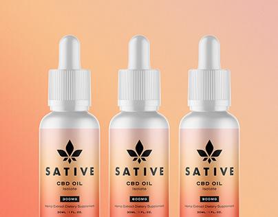 Sative CBD - Brand Identity