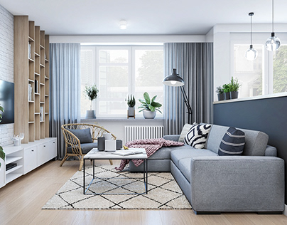 Living area for a young woman // AUG 19