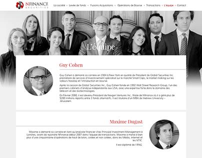 Design site NFinance