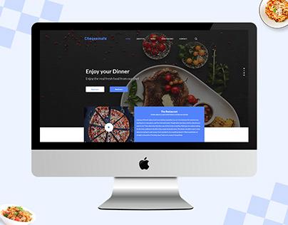 Chequemate website design