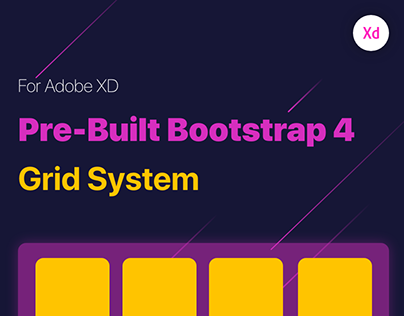 Free Pre-Built Bootstrap 4 Grid System