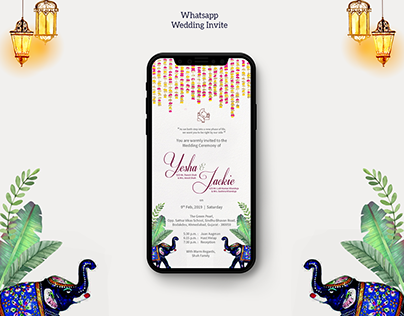 Indian Whatsapp Wedding Invite