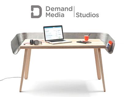 DM Studios work desk & tools for publishing content