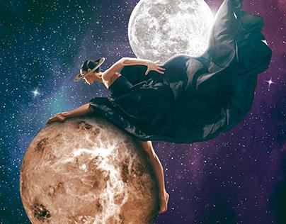 Bailarina espacial