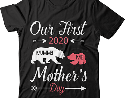 our first 2020 mother's day t shirt design