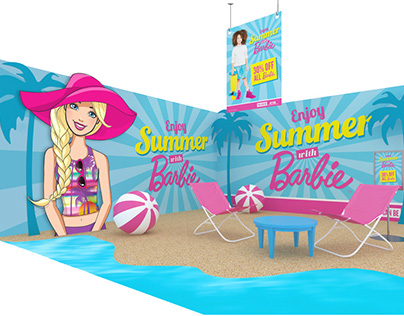 Barbie Seasonal Guide | Graphic Design
