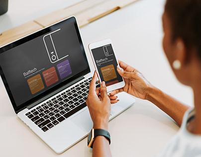 Technology Blog Website - Balftech