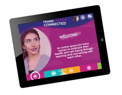 Trans Women Connected app
