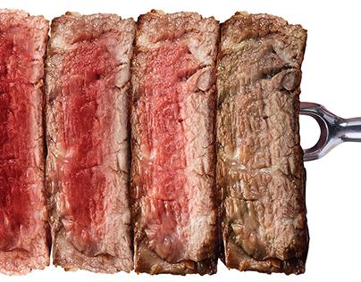 Huber's Butchery Press Ads