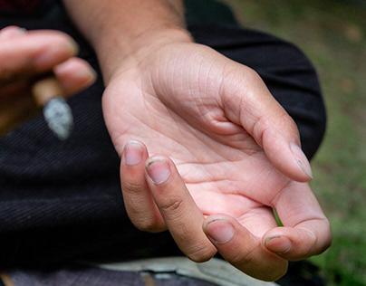 Behind Hands