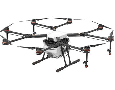 Video - Crop Spraying Drones