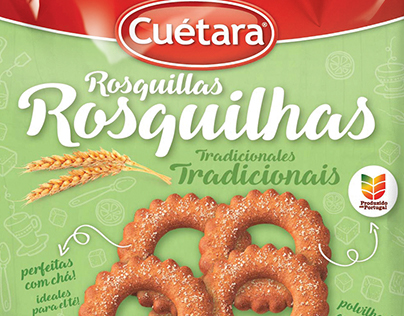 Packaging Rosquilhas CUÉTARA
