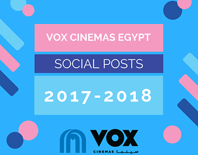 VOX Cinemas Egypt - Social Posts and Videos