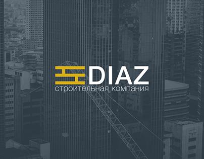 Diaz. Construction company branding