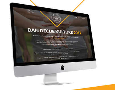 Web UI/UX design - Charity organization