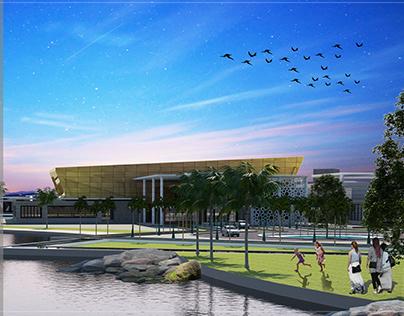 Graduation project : Convention center in Marsa Allam
