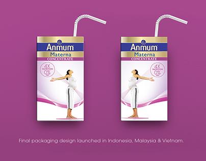 Anmum Materna Milk Concentrate (Packaging Design)
