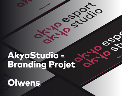 AkyaStudio - Branding Project