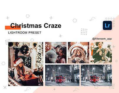 Christmas Craze - Lightroom Presets - Filteroom app