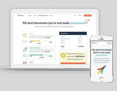 Redesign of Pricing Page for E-Commerce SaaS