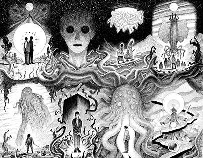 HP.LOVECRAFT- Project LC.RC - full cover picture