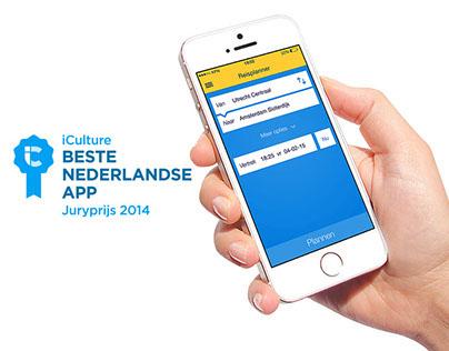 Reisplanner Xtra 3 Awarded Best App