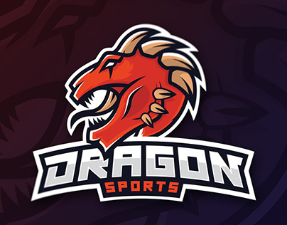 [Logo Design] Dragon Mascot Speedart