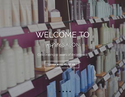 Salon Inspire St. Louis Website Design