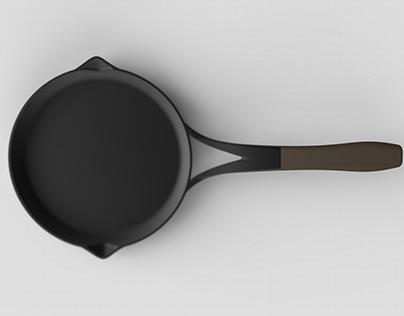 Modern Cast Iron Pan