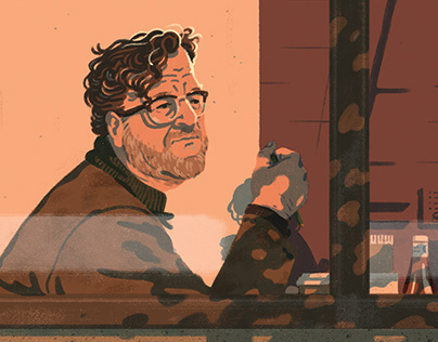 New Yorker Magazine - Full page portrait