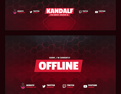 Kandalf - Twitch Design Package