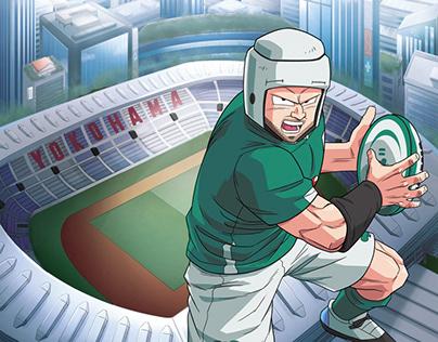 Irish Rugby anime Aer Lingus' Cara takeover