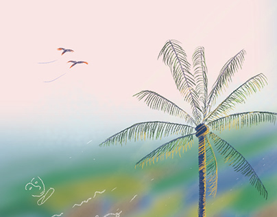Gif: Mornings in Penang Sketch
