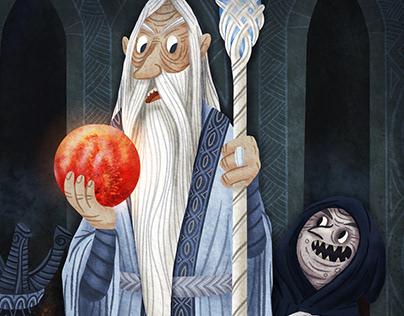 My Tolkien's world - Saruman