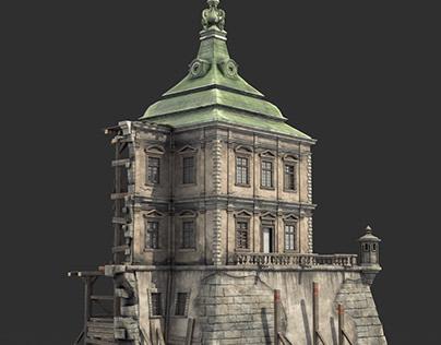 Renaissance Ruined Castle
