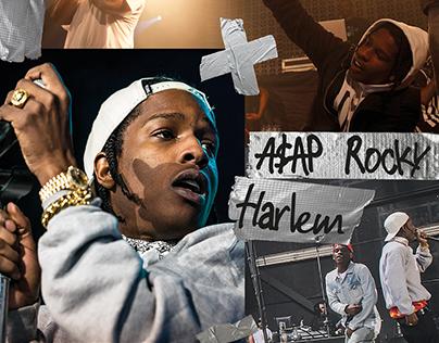A$AP Rocky — Harlem (Vinyl record multi publishing)