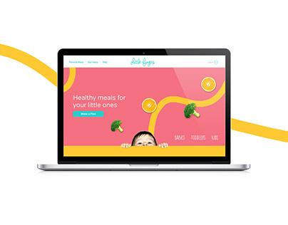 Little Fingers Web design case study